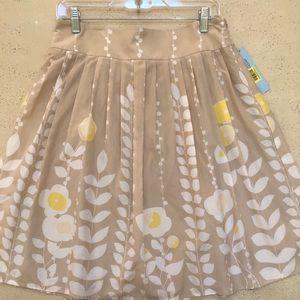 New Antonio Melani Women's Floral A-Line Skirt